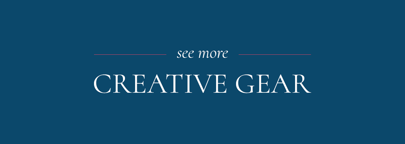 see more creative gear - main menu banner